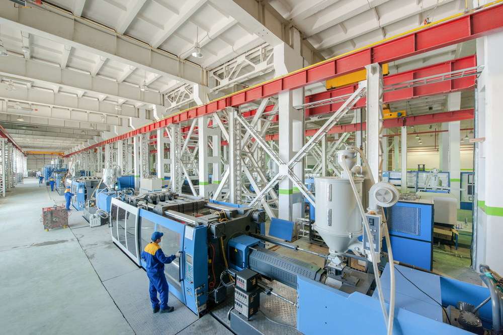 Manufacturing plant.